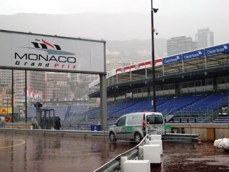 Monte Carlo, Monaco - Formel 1  Zuschauer Terassen