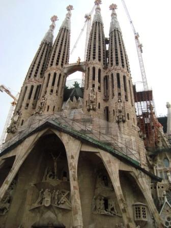 Barcelona, Spanien - Sagrada Familia