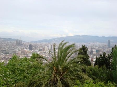 Barcelona, Spanien - Blick auf Barcelona