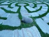 Bodenlabyrinth