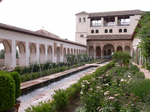 Granada - tolle gärten!