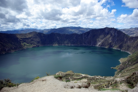 Cotopaxi - Quilotoa Lagune