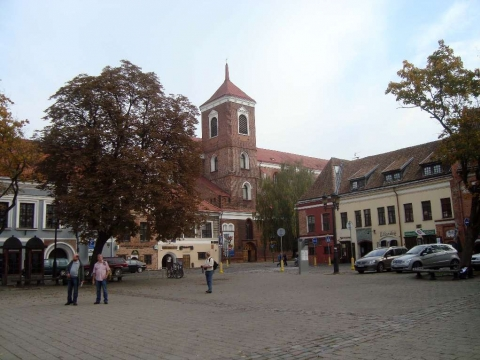 Kaunas - Kaunas Rathausplatz