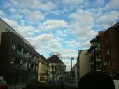 In Buer - mit bayerischem Himmel
