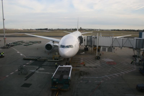 Christchurch - Boing 777-300