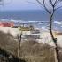 Fisherbote am Strand von Rewal