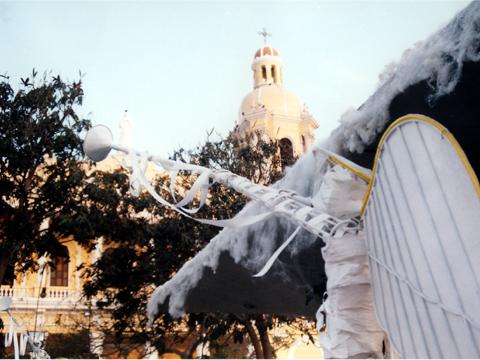 Chiclayo - Weihnachtsdekoration