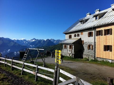 Rastkogelhütte - Rastkogelhütte auf 2117m