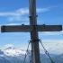 Gipfelkreuz des Rastkogel auf 2762m