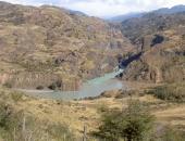Zusammenfluss Río Baker Río Chacabuco