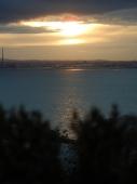 Blick von Howth auf Dublin