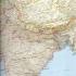Reisekarte Indien
