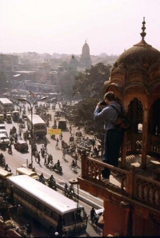 Jaipur - Blick auf Jaipur