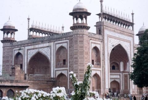 Āgra - Eingangstor zum Taj Mahal