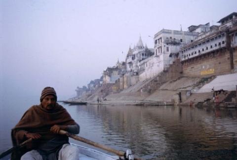 Benares - Auf dem Ganges