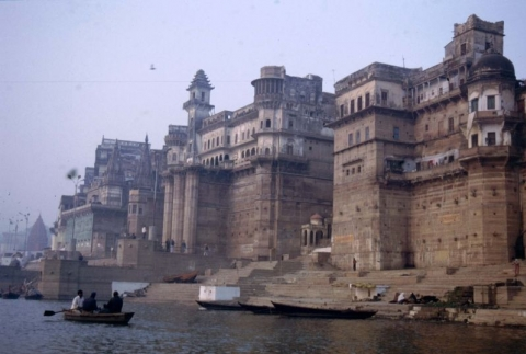 Benares - Ghats am Ganges