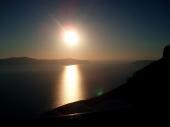 Sonnenuntergang Fira