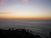 Sonnenuntergang am Kap Spartel - der nordwestlichste Punkt Afrikas