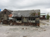 Chaiten: Zerstoerung durch Vulkanausbruch 2010