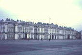 Winterpalast mit Eremitage in St. Petersburg