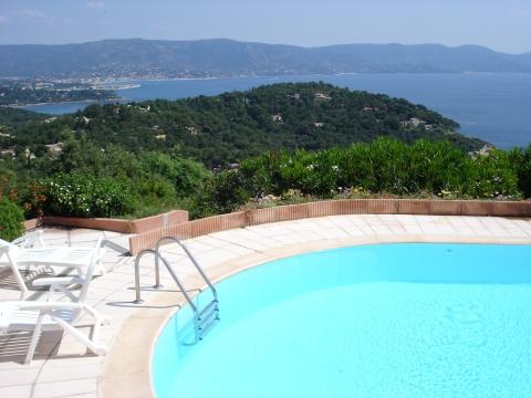 Cap Bénat - Aussicht von unserem Ferienhaus auf die K