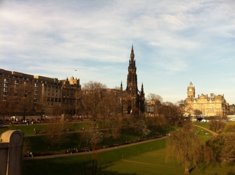 Edinburgh - Princes Gardens