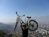 Smog in Santiago