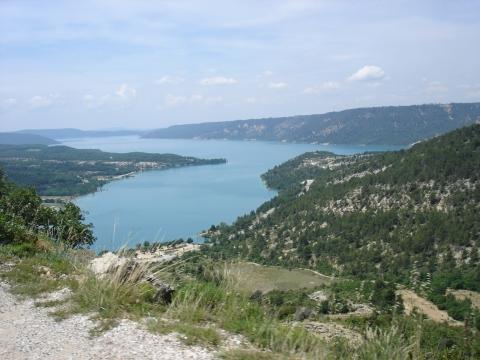 Moustiers-Sainte-Marie - Lac de St. Croix