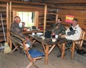 In der Franz Six Hütte