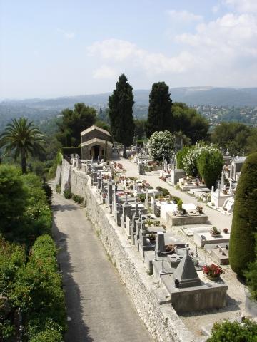 Vence - Friedhof in St. Paul de Vence