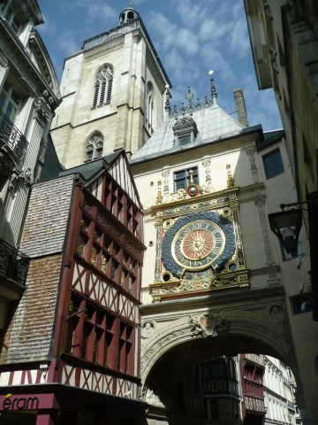 Rouen - Tour d'Horloge in Rouen