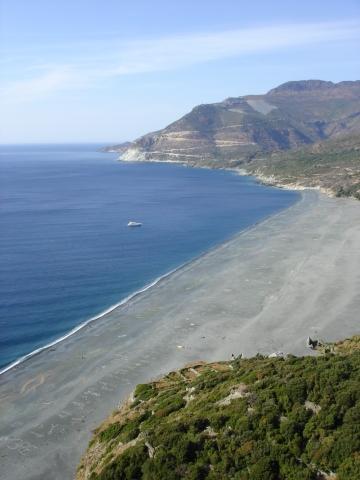 Nonza - Strand von Nonza