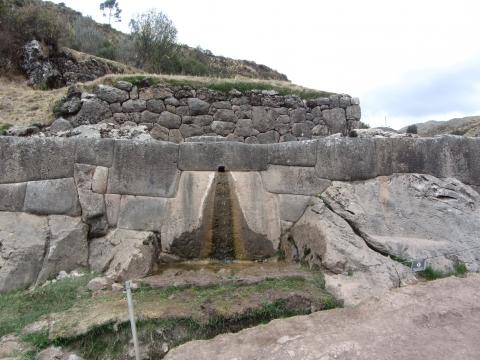 Cusco - Wasser war kein Problem für die Inkas