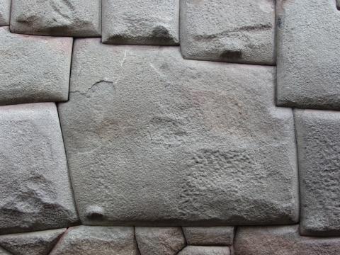 Cusco - 12 eckiger Stein