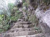dort hinauf zum Huayna P.