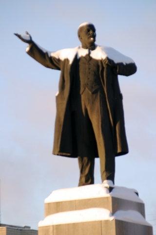 Yekaterinburg - Leninstatue im Stadtzentrum