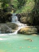 Pools bei Luang Prabang
