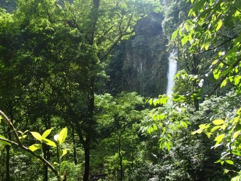 Republic of Costa Rica - Wasserfall La Fortuna