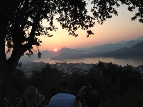 Louangphrabang - Sunset Mekong