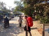 Road in Mandalay