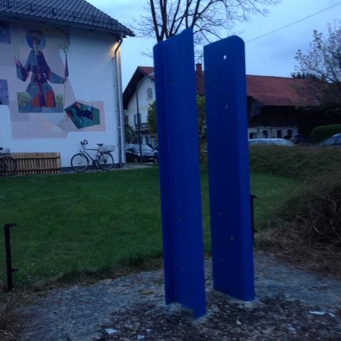 Siegertsbrunn - Maibaum-Verankerung