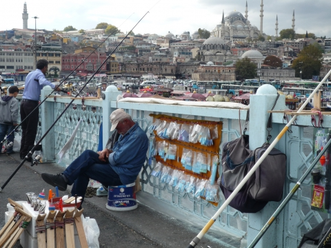 İstanbul - Galata Brücke