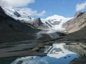 Pasterze-Gletscher und Johannisberg (3453m)