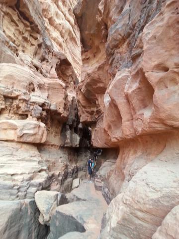 Wadi Rum - Khazali Canyon
