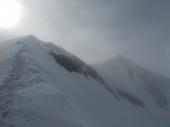 Wildspitze, Nord und Südgipfel im Nebel
