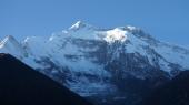 Annapurna 2 im Abendlicht