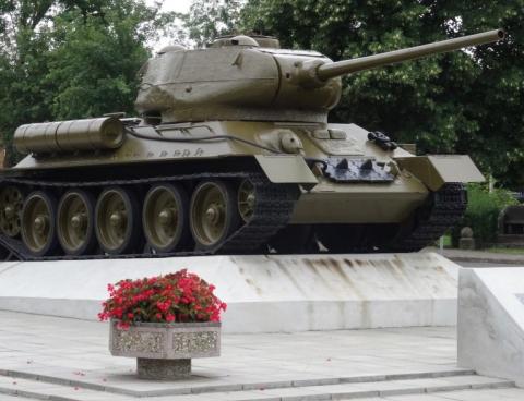 Denkmal in Kienitz