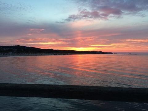 Sonnenuntergang Ahlbeck