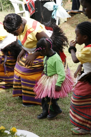 Hochzeit in Uganda