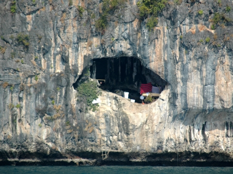 Ko Yao Noi - Höhle eines Seenomaden